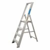 Climb-It Aluminium Stepladder 8-Tread CPS08Z | Certified to BS2037 Class 1 | 10 Year Guarantee | UK Manufactured | Fusion Office UK