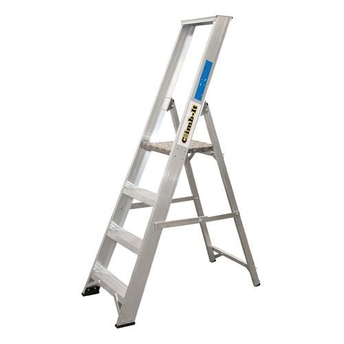 Climb-It Aluminium Stepladder 12-Tread CPS12Z   Certified to BS2037 Class 1   10 Year Guarantee   UK Manufactured   Fusion Office UK