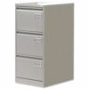 Bisley Superior 3 Drawer Filing Cabinet Grey [Public Sector] | High sided easy glide drawers | 40kg load capacity | Fusion Office UK