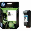 HP 15 Black Ink Cartridge C6615DE | Original Authentic HP - Hewlett Packard | Great Everyday Pricing | Fusion Office