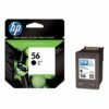 HP 56 Black Ink Cartridge C6656AE | Original Authentic HP - Hewlett Packard | Great Everyday Pricing | Fusion Office