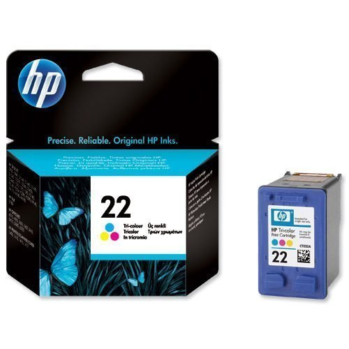 HP 22 Tri-Colour Ink Cartridge C9352AE | Original Authentic HP - Hewlett Packard | Great Everyday Pricing | Fusion Office