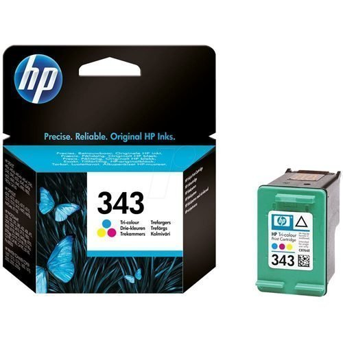 HP 343 Tri-Colour Ink Cartridge C8766EE   Original Authentic HP - Hewlett Packard   Great Everyday Pricing   Fusion Office