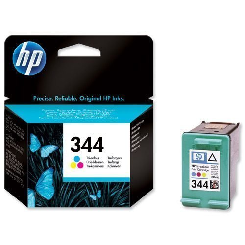 HP 344 Tri-Colour Ink Cartridge C9363EE   Original Authentic HP - Hewlett Packard   Great Everyday Pricing   Fusion Office