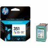 HP 351 Tri-Colour Ink Cartridge CB337EE   Original Authentic HP - Hewlett Packard   Great Everyday Pricing   Fusion Office UK