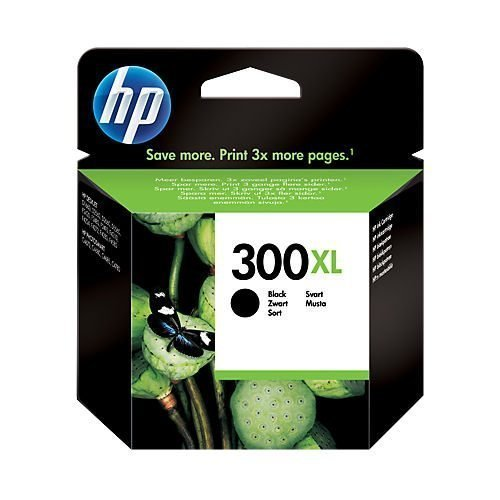 HP 300XL Black Ink Cartridge CC641EE | Original Authentic HP - Hewlett Packard | Great Everyday Pricing | Fusion Office UK