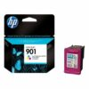 HP 901 Tri-Colour Ink Cartridge CC656AE   Original Authentic HP - Hewlett Packard   Great Everyday Pricing   Fusion Office UK