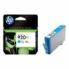 HP 920XL Cyan Ink Cartridge CD972AE | Original Authentic HP - Hewlett Packard | Great Everyday Pricing | Fusion Office UK
