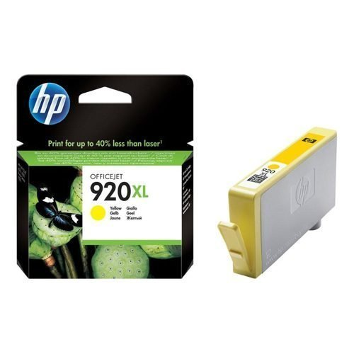 HP 920XL Yellow Ink Cartridge CD974AE | Original Authentic HP - Hewlett Packard | Great Everyday Pricing | Fusion Office UK