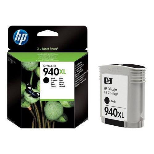 HP 940XL Black Ink Cartridge C4906AE   Original Authentic HP - Hewlett Packard   Great Everyday Pricing   Fusion Office