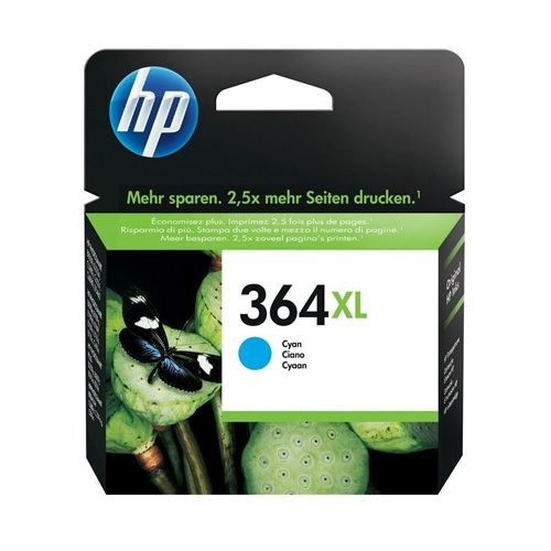 HP 364XL Cyan Ink Cartridge CB323EE | Original Authentic HP - Hewlett Packard | Great Everyday Pricing | Fusion Office UK