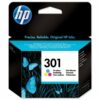 HP 301 Tri-Colour Ink Cartridge CH562EE | Original Authentic HP - Hewlett Packard | Great Everyday Pricing | Fusion Office UK