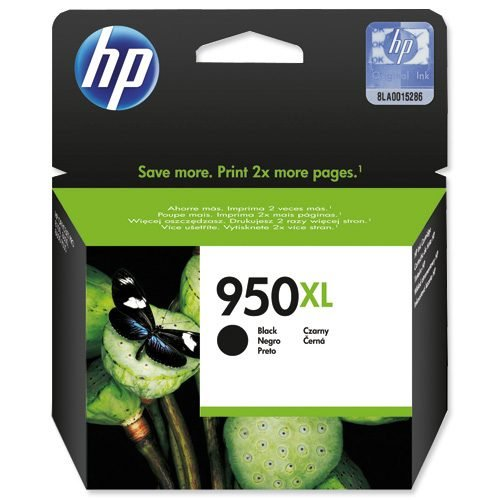 HP 950XL Black Ink Cartridge CN045AE   Original Authentic HP - Hewlett Packard   Great Everyday Pricing   Fusion Office UK