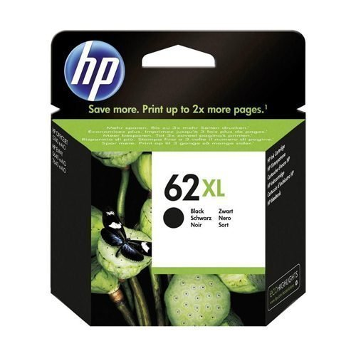 HP 62XL Black Ink Cartridge C2P05AE   Original Authentic HP - Hewlett Packard   Great Everyday Pricing   Fusion Office