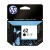 HP 62 Black Ink Cartridge C2P04AE | Original Authentic HP - Hewlett Packard | Great Everyday Pricing | Fusion Office