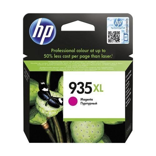 HP 935XL Magenta Ink Cartridge C2P25AE | Original Authentic HP - Hewlett Packard | Great Everyday Pricing | Fusion Office