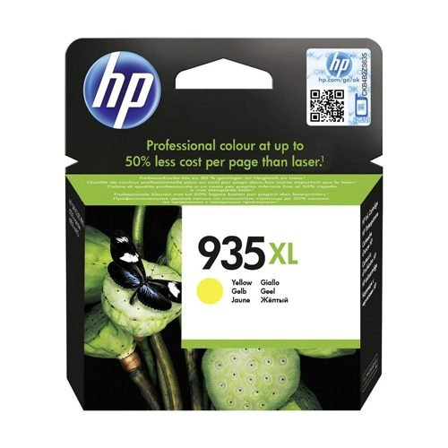 HP 935XL Yellow Ink Cartridge C2P26AE | Original Authentic HP - Hewlett Packard | Great Everyday Pricing | Fusion Office