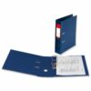 Lever Arch Files Blue Foolscap Polyprop Covered [Pack 10] | Strong thick board with plastic covering | Fusion Office