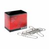 Giant Paperclips Wavy 76mm [Pack 100] | Ideal for holding documents without damaging the pages | Fusion Office
