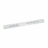 Clear Plastic Rulers 300mm [Pack 20]   Metric and imperial markings   Made from clear plastic   Fusion Office