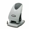 Rexel Precision 265 2 Hole Punch 2100982 [65 Sheets] | Robust metal 2 hole punch for punching up to 65 sheets of paper | Fusion Office UK