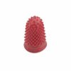Finger Cones Very Small Red Size 00 [Pack 10] | Thimblettes | Made of fine quality rubber | Great for counting | Fusion Office