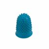 Finger Cones Medium Blue Size 1 [Pack 10] | Thimblettes | Made of fine quality rubber | Great for counting | Fusion Office