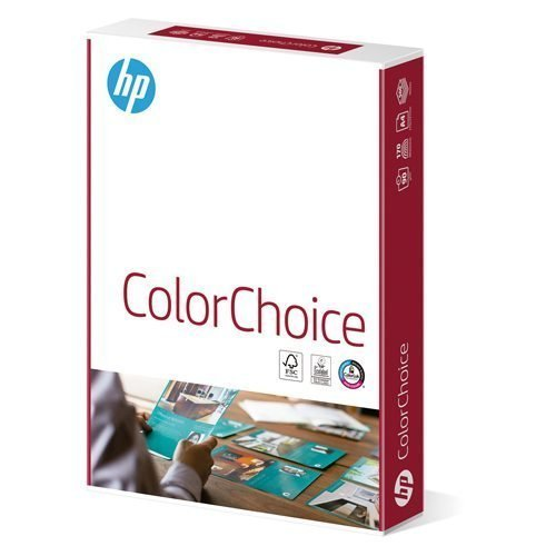 HP Color Choice A3 100gsm White Paper (4x500) Box   Specifically for colour printing   Super Smooth   Fusion Office