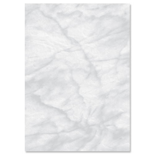 Marble Paper A4 Grey 90gsm [100 Sheets] | For use with laser and Inkjet printers or copiers | marble effect paper | Fusion Office UK