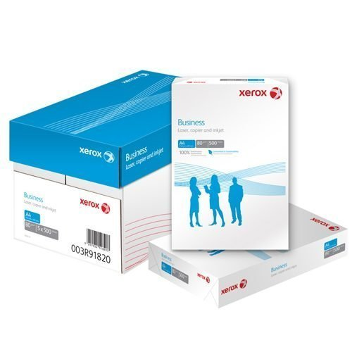 A4 4 Hole Paper White 80gsm Xerox Business (5x500) Box 003R91823   Suitable for everyday use   EU Ecolabel certified   Fusion Office