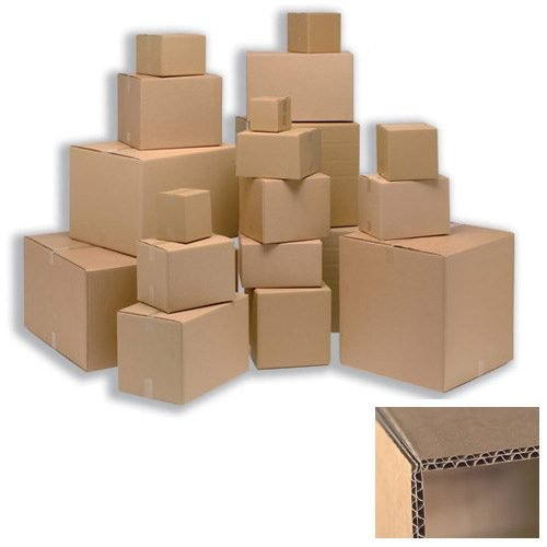 12x9x9 Double Walled Boxes | Packing Boxes Double Wall 305x229x229mm Brown [Pack 15] | 59183 | Fusion Office