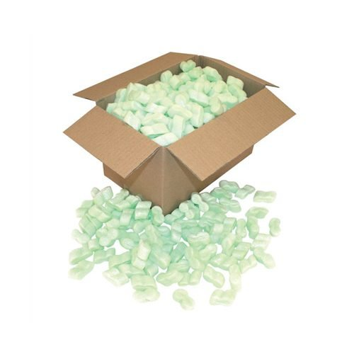 Loose Fill Chips 100% Recycled S-shaped 15 Cubic Ft Bag / 0.425 cubic metres | Fusion Office