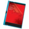 Clip Folders 3mm Blue A4 Pack 25 | Clip Files holds up to 30 Sheets of A4 | Durable & wipe clean PVC | Fusion Office