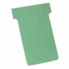 Nobo T-Cards Size 4 Light Green A110 [Pack 100] 32938924 | Simple and visual project organisation | Planning Cards | Fusion Office UK