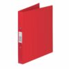 Rexel Budget Ring Binders Red A4 13422RD [Pack 10]   Binders are made from semi-rigid, tear-resistant polypropylene   Fusion Office UK