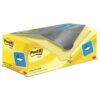 3M 654-CY-VP20 Post-It Canary Yellow Notes Value Pack 76x76 [20] | The original Post-It Note | 100% PEFC certified paper | Fusion Office UK