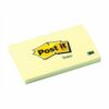 3M 655 Post-It Canary Yellow Notes Pad 76x127mm [Pack 12]   The original Post-It Note   100% PEFC certified paper   Fusion Office UK