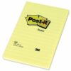 3M 660 Post-It Canary Yellow Notes Pad 102x152mm Lined [Pack 6] | XXL perfect for to-do lists and longer reminders | Fusion Office UK