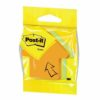 3M Post-it Arrow Notes Shaped Pad Neon Rainbow 2007A | Made with 60 % renewable resource | Fusion Office