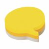 3M Post-it Speech Bubble Notes Pad Yellow/Grey 2007SP | Made with 60 % renewable resource | Fusion Office