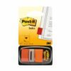 3M 680-4 Post-It Index Medium Flags Orange 50 Flags [Pack 12] | Essential to mark and colour code your documents | Fusion Office UK