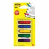 3M 684-ARR1EU Post-It Index Small Arrows W12xH43mm [Pack 100] | Pre-printed with an arrow, add your own written note | Fusion Office UK