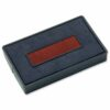 Colop E/200/2 Blue & Red Ink Pads [Pack 2] | Replacement ink pads for COLOP Self-Inking Text Date Stamp | Fusion Office UK