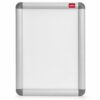 Nobo Clip Frame A4 (Snap Frame) 1902214 | Smart aluminium snap frame for easy content change | Anti Glare | Fusion Office UK