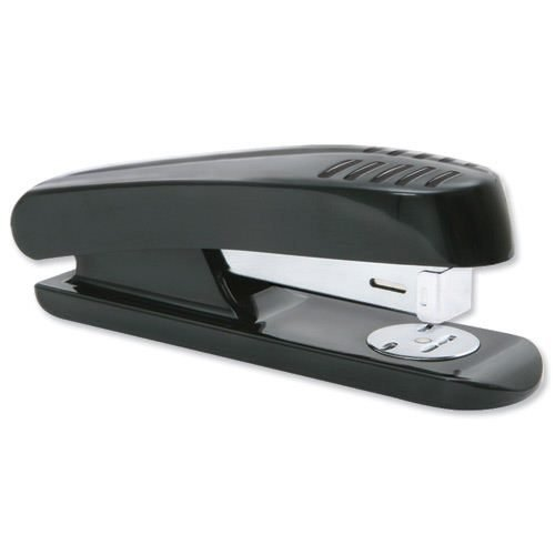 Plastic Stapler Half Strip 20 Sheets Capacity Black | Fast Delivery | Fusion Office