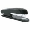 Plastic Stapler Full Strip 20 Sheets Capacity Black   Fast Delivery   Fusion Office