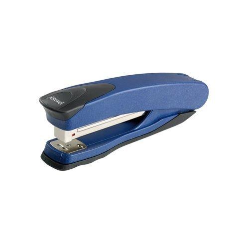 Rexel Taurus Stapler Blue 2100005 [25 Sheets] | Lightweight, full strip premium stapler | Built in staple remover | Fusion Office UK