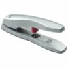 Rexel Odyssey Stapler Silver 2100048 [60 Sheets] | Strong heavy duty metal stapler | Low force tech delivers more power | Fusion Office UK