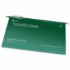Rexel Crystalfile Suspension Files Foolscap Green 78046 [Pack 50] | Crystalfile Classic Suspension Files | Original & Best | Fusion Office UK