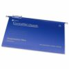 Rexel Crystalfile Suspension Files Foolscap Blue 78143 [Pack 50]   Crystalfile Classic Suspension Files   Original & Best   Fusion Office UK